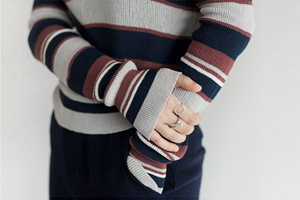 [해외] Minoz stripe knits (2colors)