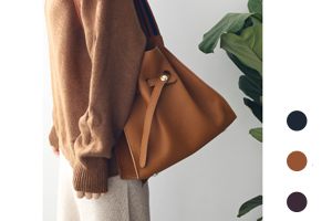 [해외] basket edge bag (3colors)